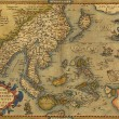 Stock Photo: Antique Map of Chinand Southeast Asia