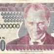 Stock Photo: One million lirnote from Turkey