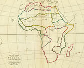Antique map of Africa. — Foto Stock