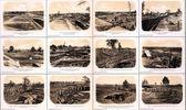 Befestigungen, Artillerie und Gräben — Stockfoto
