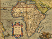 Antique Map of Africa — Stock Photo