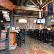 A tavern stays empty in late afternoon — Stock Photo