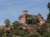 山上的城堡 — 图库照片