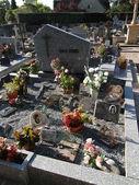 Antico cimitero — Foto Stock
