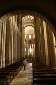 Romanesque interior — Stock Photo