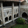 Arches of the cloister - Stock Photo
