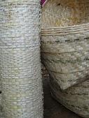 Hand woven baskets — Stock Photo