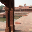 Harem palace of red sandstone — Stock Photo #13320083