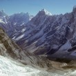 High peaks and glaciers i - Stockfoto