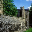 Outer walls, Tower of London - Stock Photo