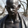 Statue of Mahatma Ghandi — Stock Photo