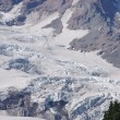Detail, Glaciers on Mount Rainier — Stock Photo