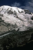 Mount Rainier, late season for Nisqually Glacier — Stockfoto