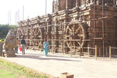 Ancient Hindu temple — Stock Photo