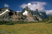 Ramparts Mountains — Stock Photo