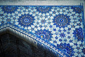 Mosaic detail, Medresseh, Registan Square — Stock Photo