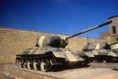 Russian T34 tank — Stock Photo