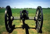 Three inch rifled cannon — Stock Photo