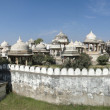 Ahar cenotaphs of the Maharanas of Mewar, - Stock Photo