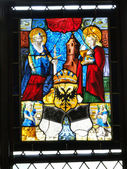 Stained glass window — Foto Stock