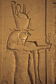 Faraó como horus — Foto Stock
