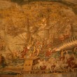 Stock Photo: Tapestry, sailing ships