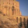 Stock Photo: Entrance tower & moat of Citadel,