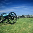 Napoleon artillery battery - Stock Photo
