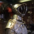 Tournment armor of late medieval knight — Stock Photo