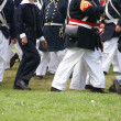Detail, Union troops marching — Stock Photo