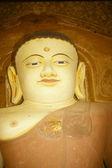 Buddha in temple — Stock Photo