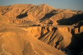 восход, долина царей — Стоковое фото