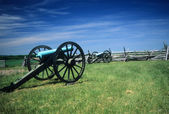 Napoleon artillery battery — Stock Photo