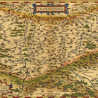 Antique Map of Transylvania, Romania — Stock Photo #17992543