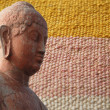 Head of Buddha, — Stock Photo