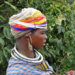 Bonda tribal woman -  