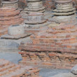 Ruins of ancient Buddhist monastery -  