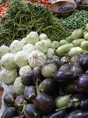 Aubergine en andere groenten ik — Stockfoto