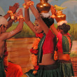 Stock Photo: Indidancers perform traditional dance