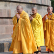 Stock Photo: Japanese monks perform Buddhist rituals