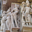 Stock Photo: Apsarnaked dancers in candid poses; sculpture