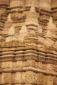 Shikara decorations on the Parsavanatha — Stock Photo