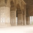 Inlaid marble, columns and arches, Hall of Private Audience — Stock Photo