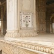 Inlaid marble, columns and arches — Stock Photo