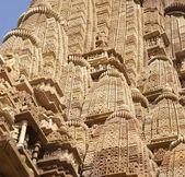 Detail, shikhara tempel torenspitsen — Stockfoto
