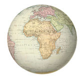Antique map of Africa. — Stock Photo
