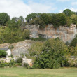 Stock Photo: Castle on limestone bluff