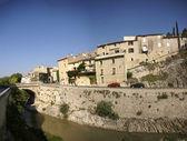 Pared dique romano y medieval de la ciudad, — Foto de Stock