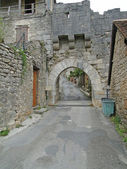 Medieval gate — Stock Photo