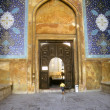 Gate of old mosque - Stock Photo